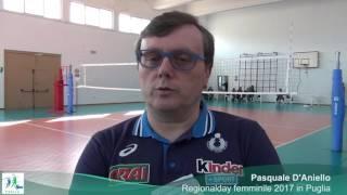 13-04-2017: #fipavpuglia - Regionalday femminile 2017, le parole di mister Pasquale D'Aniello