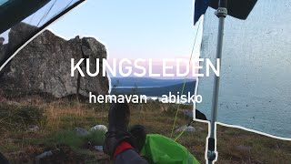 Solo Hiking the Kungṡleden in Swedish Lapland