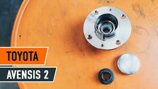 Underhåll Toyota Avensis t25 Wagon - videoinstruktioner