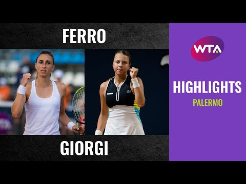 WTA Palermo semifinals | Petra Martic vs. Anett Kontaveit