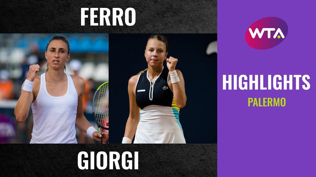 Download Petra Martic vs. Anett Kontaveit   2020 Palermo Semifinal   WTA Highlights