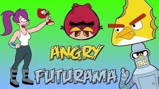 Angry Futurama(angry birds meet Futurama)Bender fighting parody