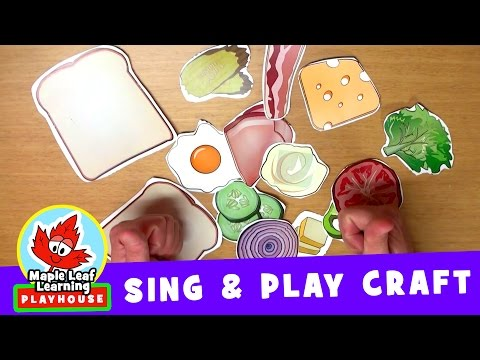 Let's Make a Sandwich | Sing and Play Craft | Maple Leaf Learning Playhouse