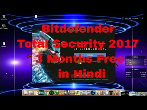 Bitdefender Total Security Antivirus 3 Months Trial for Free In Hindi Official
