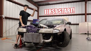 Honda V6 Swapped S14 Starts For The First Time!