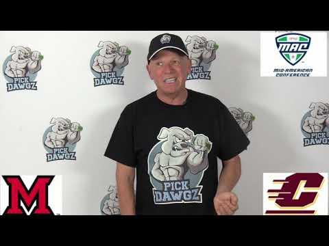 Central Michigan vs Miami OH 12/7/19 Free College Football Pick and Prediction MAC Championship