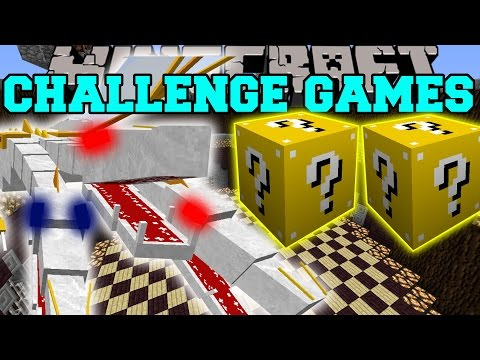 Thumbnail: Minecraft: THE KING CHALLENGE GAMES - Lucky Block Mod - Modded Mini-Game