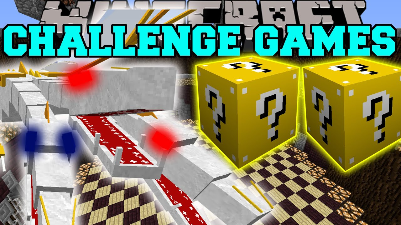 Lucky block mod popularmmos challenge games