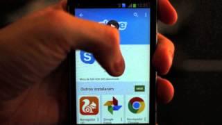 Como baixar o Skype em seu celular Android