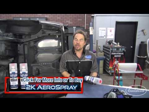 How to Spray a Bed Liner & Floor Pan Coating - POR15 Bed Liner with Kevin Tetz at Eastwood