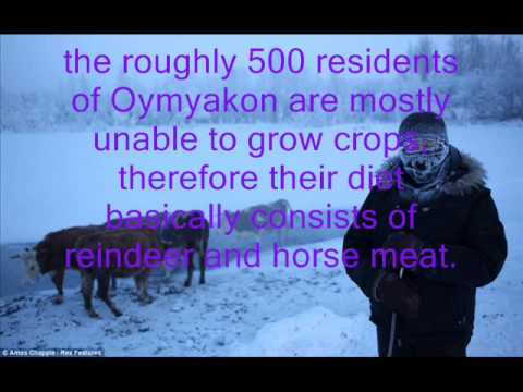 coldest place on earth oymyakon russia youtube. Black Bedroom Furniture Sets. Home Design Ideas