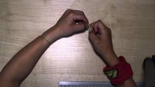 Видеоурок от Максима. Браслет из одной резиночки.
