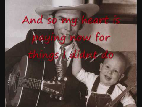 hank williams - cold cold heart Lyrics