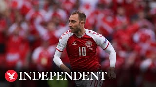 Football world reacts after Christian Eriksen collapses at Euro 2020