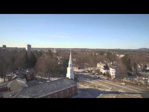 """20/20 """"BREAKING POINT: HEROIN IN AMERICA"""" AERIAL FOOTAGE MANCHESTER, NH"""