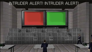 GoldenEye 007 N64 Agent Base (Custom Level) 00 Agent