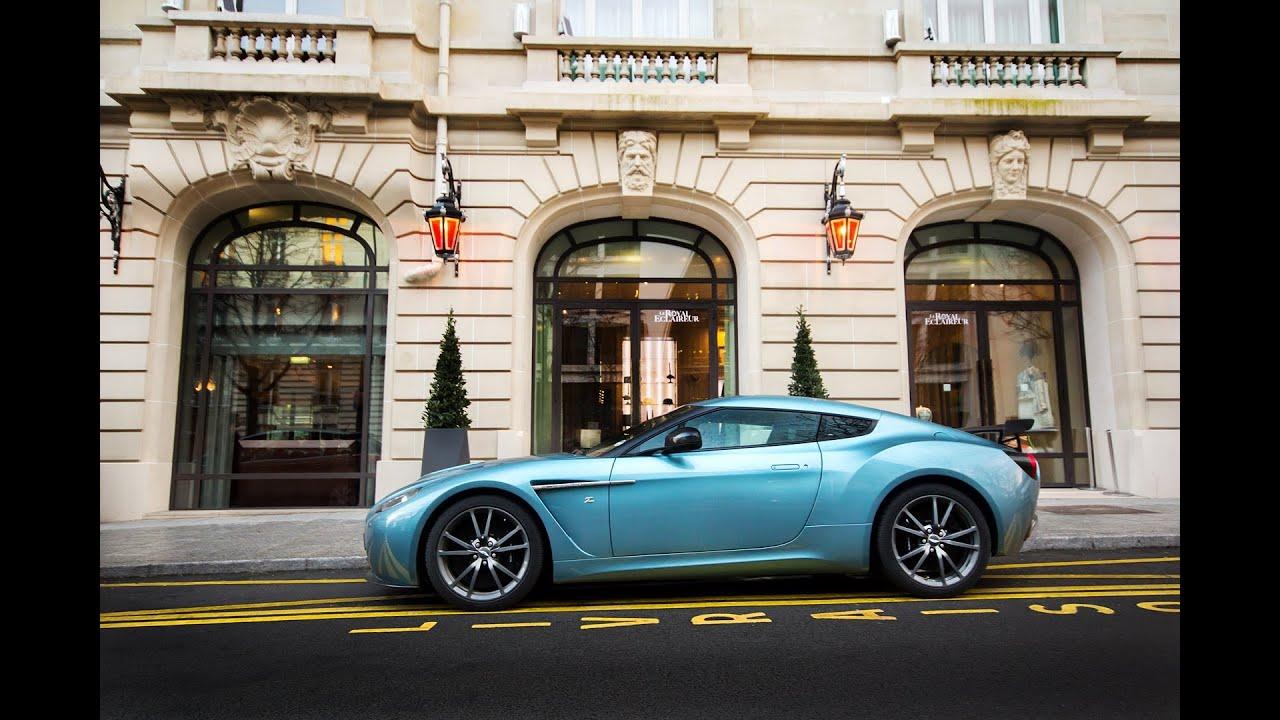 Aston Martin V12 Zagato Great Sound Start Up Acceleration Youtube