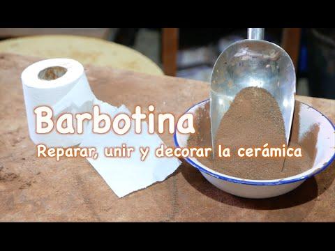 Barbotina para reparar unir distintas partes y decorar for Ceramicas para piezas