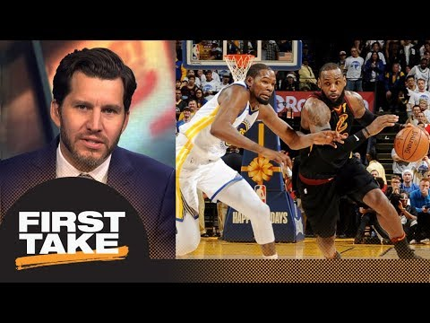 Will Cain says LeBron James-Kevin Durant only rivalry alive for Cavs-Warriors | First Take | ESPN