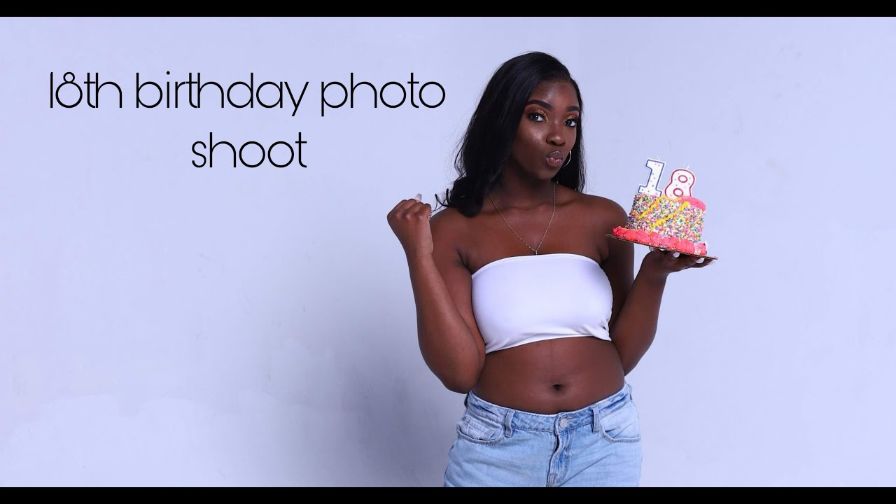 My 18th Birthday Vlog🥳💙// (Prep With Me, Photoshoot