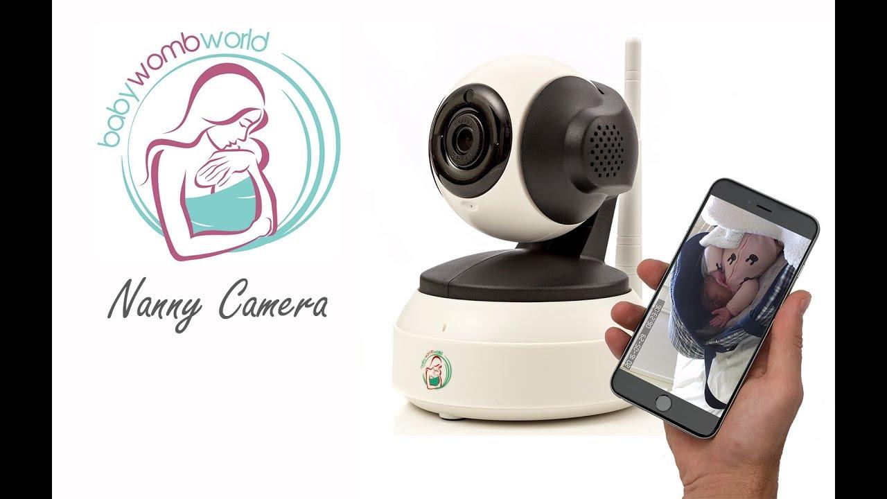 BabyWombWorld Wifi Baby Monitor & Nanny Camera