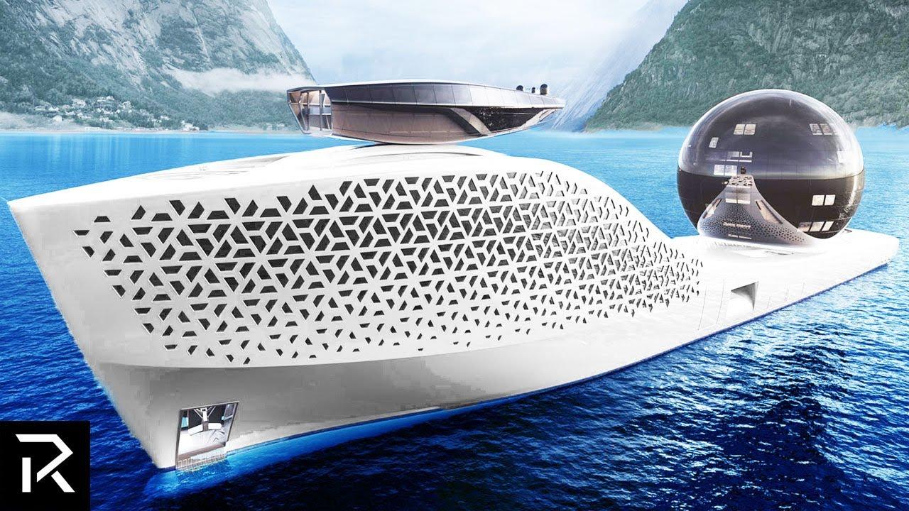 The $700 Million Dollar Nuclear Powered Superyacht