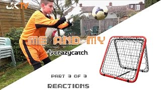 Goalkeeper Training Crazy Catch Reactions