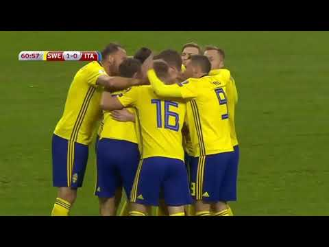 Sweden- Italy/ 1-0/ Goal By Jakob Johansson