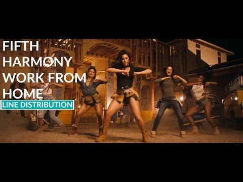 Fifth Harmony - Work From Home | Line Distribution [IMPROVED VERSION]