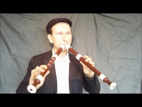 Eine kleine Nachtmusik on double recorder