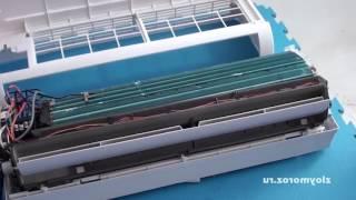 видео Почему не бежит вода из кондиционера