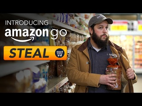 RT Shorts - Amazon Go: Just Steal Stuff