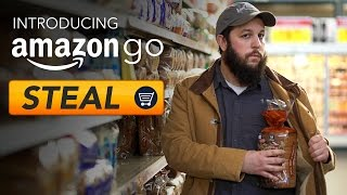 Amazon Go: Just Steal Stuff - RT Shorts