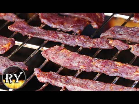 Beef Jerky Made On The Electric Smoker - Easy And Delicious