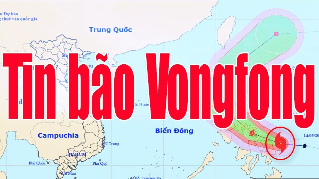 Tin thời tiết: Bão Vongfong giật cấp 14 gần Biển Đông và thời tiết 7 ngày tới