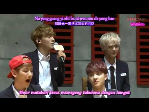 EXO M   Lucky Live IndoSub