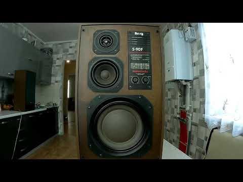 S 90F и усилитель YAMAHA RX-V373 ( бюджетная аудиосистема обзор )