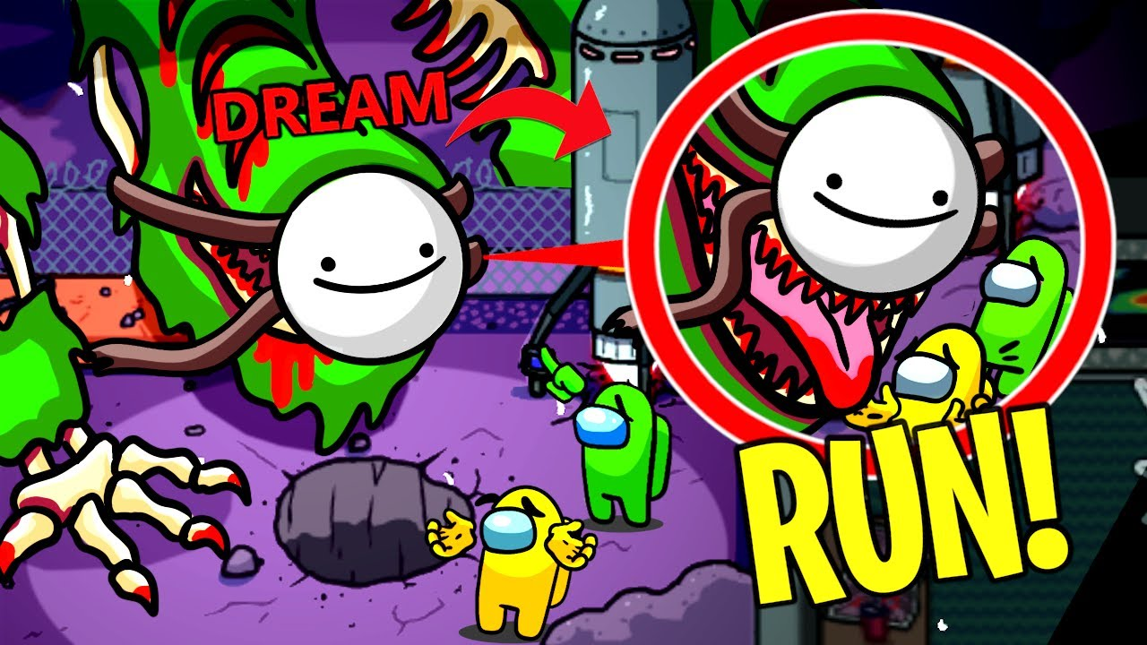 Don't Use DREAMS MASK on Imposter MURR3Y In Among Us!