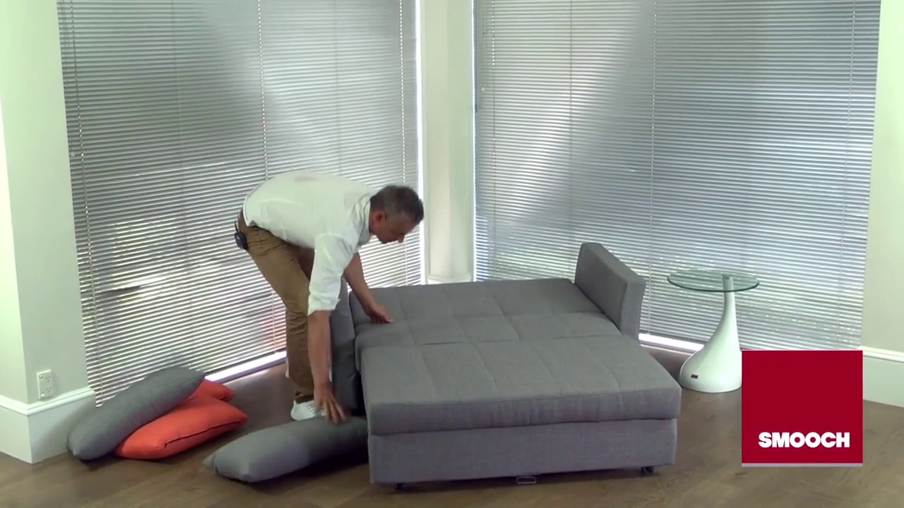 Best sofa bed in the world by smooch sofa bed nz youtube - What is a sofa bed ...