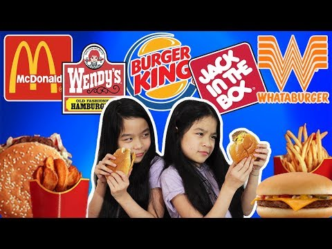 WHO HAS THE BEST CHEESEBURGERS?! | Tran Twins