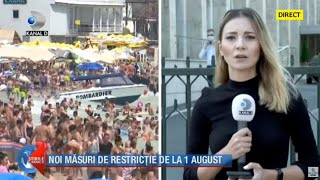 Stirile Kanal D (30.07.2020) - Noi masuri de restrictie de la 1 august | Editie de pranz