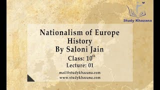 Nationalism in Europe- Class 10 | Social Science | History| Saloni Jain | Video Lecture |
