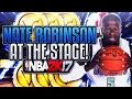 nate robinson visits the stage tiny slasher contact dunks on everybody nba 2k17 stage gameplay