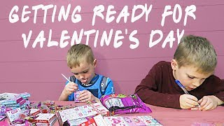 Getting Ready For Valentine