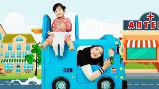 WHEELS ON THE BUS nursery rhymes song for children