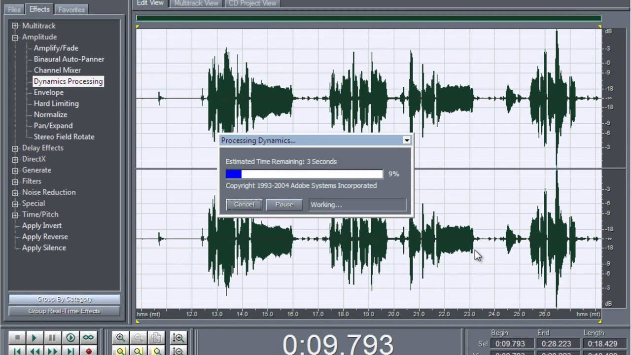 adobe audition 1.5 mix mastering pdf