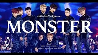 [LIVE] EXO「Monster」Special Edit. from 2016 Melon Music Awards