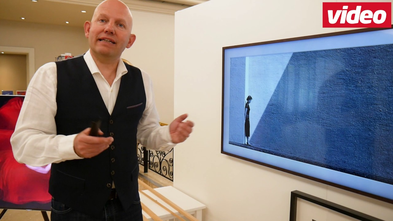Ein TV wie ein Bilderrahmen: The Frame von Samsung - YouTube