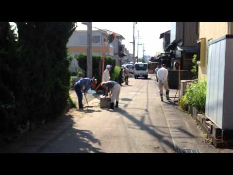 Neighborhood Cleaning In Japan