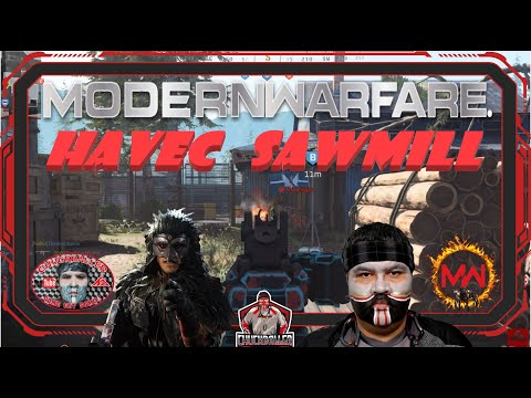 Modern Warfare - HAVEC SAWMILL IN WARPAINT - GAME 1/7 - 2 Games |